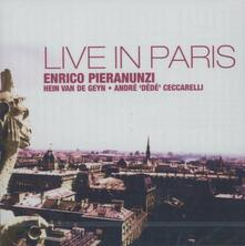 Live in Paris - CD Audio di Enrico Pieranunzi