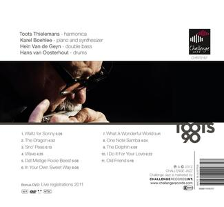 90 Years - CD Audio di Toots Thielemans