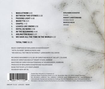 Leaves Like Snow - CD Audio di Benjamin Schaefer - 2