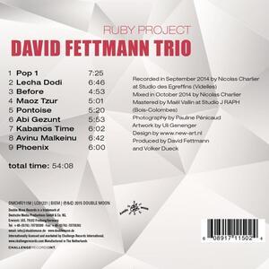 Ruby Project - CD Audio di David Fettmann - 2
