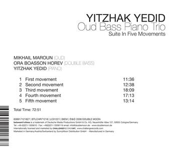Suite in Five Movements - CD Audio di Yitzhak Yedid - 2