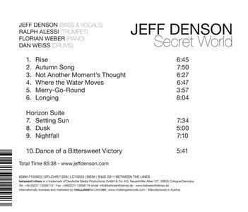 Secret World - CD Audio di Jeff Denson - 3