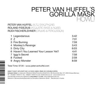 Howl - CD Audio di Gorilla Mask - 2