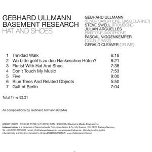 Hat and Shoes - CD Audio di Gebhard Ullmann - 2