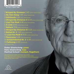 Winged by Distance - CD Audio di Dieter Glawischnig