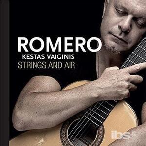 Strings and Air - CD Audio di Hernan Romero