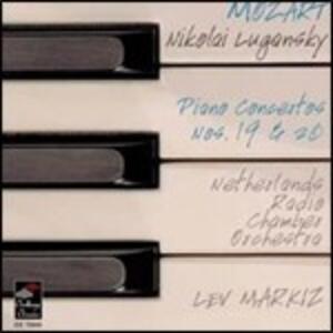 Concerti per pianoforte n.19, n.20 - CD Audio di Wolfgang Amadeus Mozart,Nikolai Lugansky