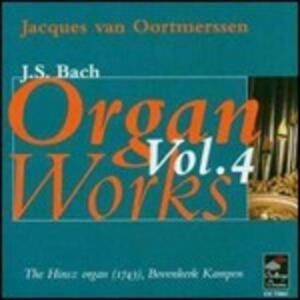 Organ Works vol.4 - CD Audio di Johann Sebastian Bach