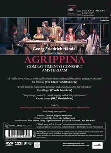 Georg Friedrich Händel. Agrippina. Combattimento Consort Amsterdam - DVD