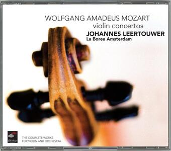 Complete Works for Violin - CD Audio di Wolfgang Amadeus Mozart