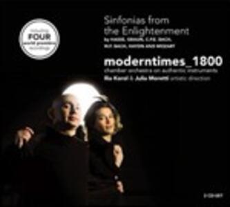 Sinfonie al tempo dei lumi - CD Audio