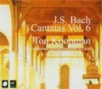Cantate vol.6 - CD Audio di Johann Sebastian Bach,Ton Koopman,Amsterdam Baroque Orchestra