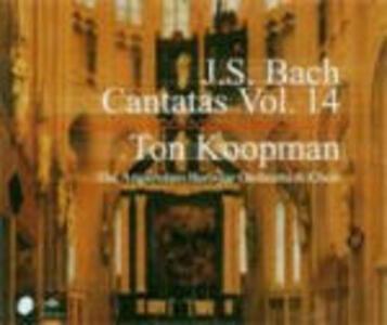 Cantate vol.14 - CD Audio di Johann Sebastian Bach,Ton Koopman,Amsterdam Baroque Orchestra