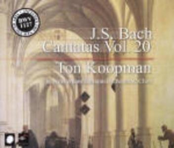 Cantate vol.20 - CD Audio di Johann Sebastian Bach,Ton Koopman,Amsterdam Baroque Orchestra