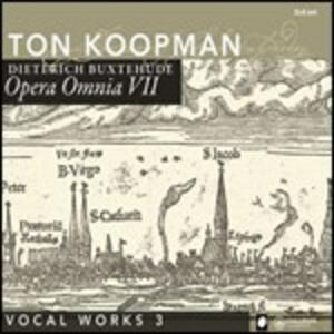 Opera omnia vol.7 - CD Audio di Dietrich Buxtehude
