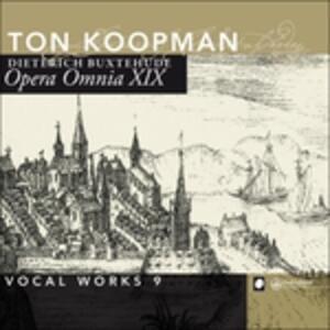 Opera Omnia Xix. Vocal Wor - CD Audio di Dietrich Buxtehude