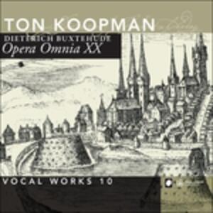 Opera Omnia Xx. Vocal - CD Audio di Dietrich Buxtehude
