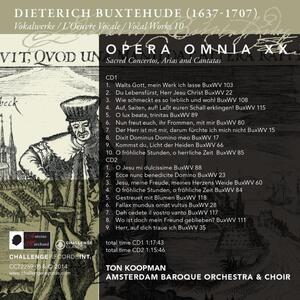 Opera Omnia Xx. Vocal - CD Audio di Dietrich Buxtehude - 2