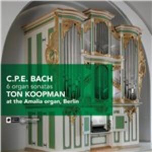 6 Organ Sonatas - CD Audio di Carl Philipp Emanuel Bach