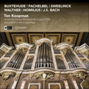 At the Zacharias Hildebra - CD Audio di Ton Koopman