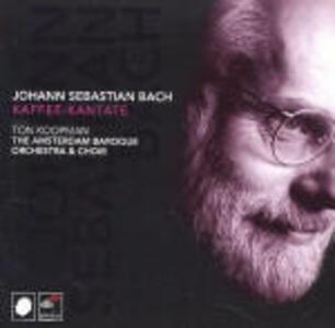 Cantate BWV211, BWV212, BWV203 - CD Audio di Johann Sebastian Bach,Ton Koopman,Amsterdam Baroque Orchestra