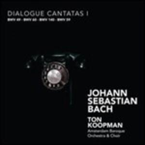 Cantate BWV49, BWV60, BWV140, BWV59 - CD Audio di Johann Sebastian Bach,Ton Koopman,Amsterdam Baroque Orchestra