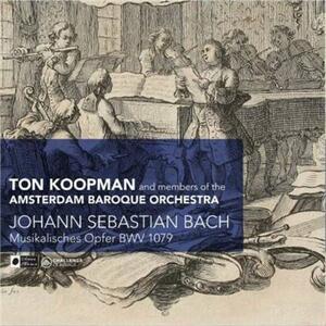 Musikalisches Opfer Bwv10 - CD Audio di Johann Sebastian Bach