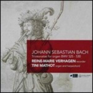 Sonate a tre - CD Audio di Johann Sebastian Bach