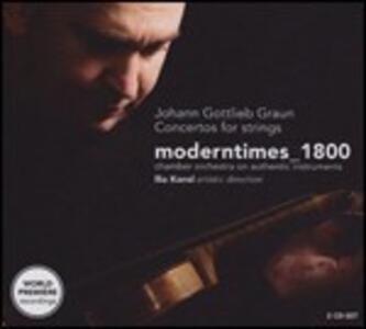 Concerti per archi - CD Audio di Johann Gottlieb Graun