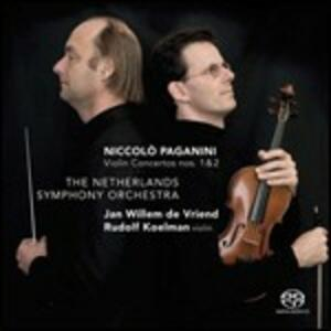 Concerti per violino n.1, n.2 / Ouverture Matilde di Shabran - CD Audio di Niccolò Paganini,Gioachino Rossini,Netherlands Symphony Orchestra,Rudolf Koelman,Jan Willem de Vriend