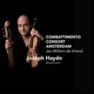 Divertimento - SuperAudio CD di Franz Joseph Haydn