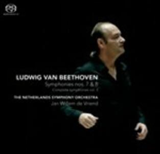 Sinfonie n.7, n.8 - SuperAudio CD ibrido di Ludwig van Beethoven,Netherlands Symphony Orchestra,Jan Willem de Vriend