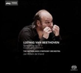 Sinfonia n.9 - SuperAudio CD ibrido di Ludwig van Beethoven,Netherlands Symphony Orchestra,Jan Willem de Vriend