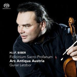 Fidicinium Sacro - Profanum - SuperAudio CD di Heinrich Ignaz Franz Von Biber