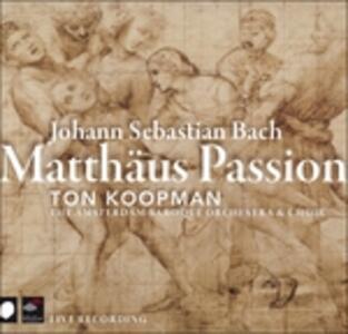 Matthaus Passion - CD Audio di Johann Sebastian Bach