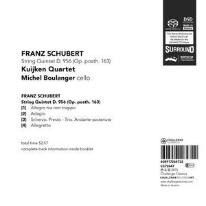 Quintetto per Archi D956 - SuperAudio CD di Franz Schubert - 2