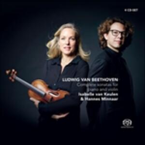 Vioolsonates - SuperAudio CD di Ludwig van Beethoven