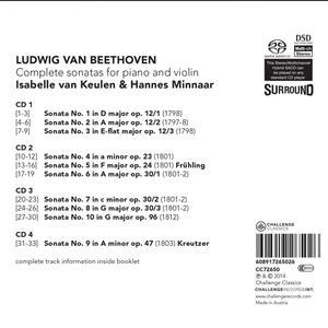 Vioolsonates - SuperAudio CD di Ludwig van Beethoven - 2