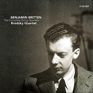 Complete Quartetti per Archi - CD Audio di Benjamin Britten