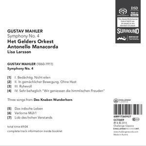 Sinfonia N.4 - SuperAudio CD di Gustav Mahler - 2
