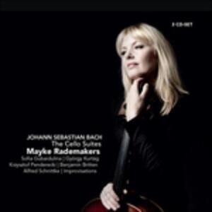 Suites per Violoncello - CD Audio di Johann Sebastian Bach