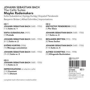 Suites per Violoncello - CD Audio di Johann Sebastian Bach - 2