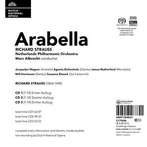 Arabella - SuperAudio CD di Richard Strauss - 2