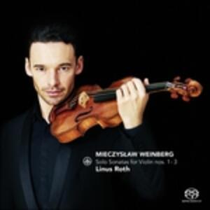 Solo Sonatas For Violin.. - SuperAudio CD di Linus Roth