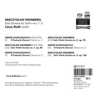 Solo Sonatas For Violin.. - SuperAudio CD di Linus Roth - 2