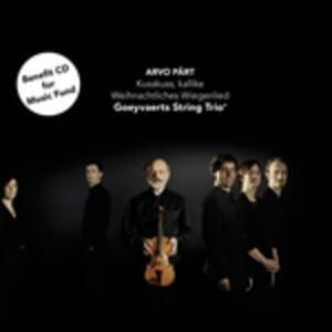 Kusskuss, Kallike - Weihnac - CD Audio Singolo di Arvo Pärt