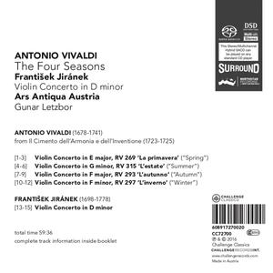 Four Seasons - SuperAudio CD di Antonio Vivaldi - 2