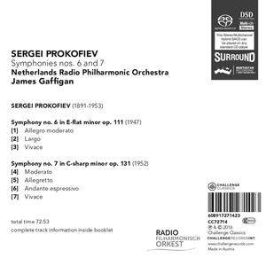 Symphonies No.6 & 7 - SuperAudio CD di Sergej Sergeevic Prokofiev - 2