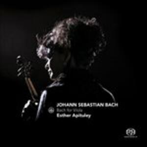 Bach for Viola - CD Audio di Esther Apituley