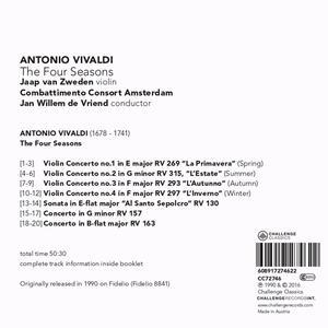 Four Seasons - CD Audio di Antonio Vivaldi - 2